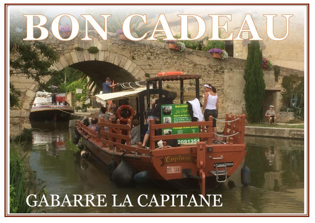 Vous voulez faire plaisir à un proche ? et pourquoi pas lui offrir une croisière détente sur le canal du Midi ?